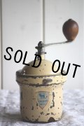 絶妙の枯れ具合 1950〜1952年 フランス製 アンティーク プジョー コーヒーミル GI アイボリー 刃は完全メンテナンス済の極美