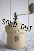 1950〜1952年 フランス製 アンティーク プジョー コーヒーミル 保存状態の良いGI アイボリー 刃は完全メンテナンス済の極美