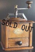 希少美品 プジョーコーヒーミル T型オクトゴナル 大型 クルミ材&アイアン 刃は完全メンテナンス済の極美 1896〜1935年 フランス製