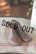 お買い得 ハーフ・ブーツ型 可愛い子供用靴 (幼児) 木型靴セット  12.5cm USAビンテージ