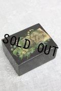 アンティーク モシュリンヌの小箱 すずかけの木 可憐な花 6.6×5.2×3.3cm 1900年前後製 スコットランド製