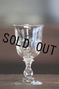 1900年代初期 フランス製 アンティーク 吹きガラスのグラス 気泡入り 口径6.2cm 全高11.7cm