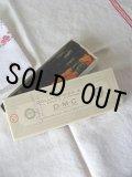 お買い得!フランス製 アンティーク 刺繍糸(DMC)オリジナルボックス付 オレンジ5本 ブラック5本