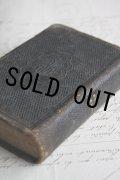 1800年代後期 フランス製 アンティーク聖書 皮表装 12.5× 8.5 ×3.0cm 636ページ