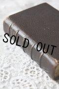 お買い得 1800年代後期 フランス製 アンティーク聖書  皮表装 11.6 × 7.8 × 3.0cm 1267ページ