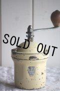 1950〜1952年 フランス製 アンティーク プジョー コーヒーミル GI アイボリー 絶妙の枯れ具合 刃は完全メンテナンス済の極美