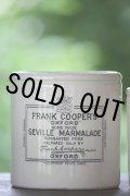 美品 大型口径 フランク・クーパー マーマレードポット 英国アンティーク 1900年代初期 H 11.2cm 径11.0cm 515g